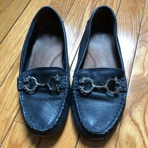 💙 C. Wonder Navy Blue Leather Loafers 💙